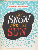 The Snow and the Sun Antonio Frasconi アントニオ・フラスコーニ la nieve yel sol Harcourt, Brace版