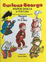 Curious George Paper Dolls  Dover