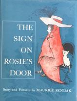 The Sign on Rosie's Door Maurice Sendak ロージーちゃんのひみつ  モーリス・センダック