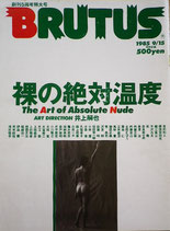 ブルータス BRUTUS 裸の絶対温度5冊セット1985~1995