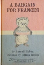 A BARGAIN FOR FRANCES  Lillian Hoban   リリアン・ホーバン