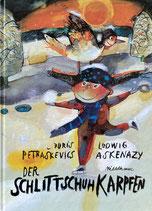 Der Schlittschuh Karpfen スケートの好きなコイ