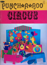 Punch a Roo Circus press out put together play fun