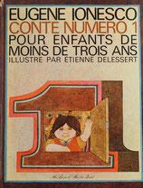 Counte Numero1 Eugene Ionesco  ストーリーナンバー1 ウージェーヌ・イヨネスコ