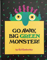 Go Away, Big Green Monster! Ed Emberley エド・エンバリー しかけ絵本