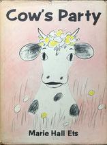 Cow's Party モーモーまきばのおきゃくさま マリー・ホール・エッツ 邦訳版原稿貼付