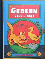 GEDEON DANS LA FORET Benjamin RABIER  EDITIONS HOEBEKE