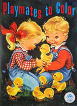Playmates to Color  MERRILL 4859