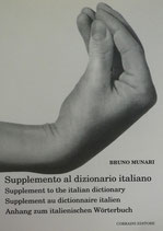 Supplemento al dizionario  BRUNO MUNARI ブルーノ・ムナーリ    supplement to the italian dictionary