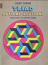 Triad Optical Illusions  三つ組による視覚的イラストレーション Dover