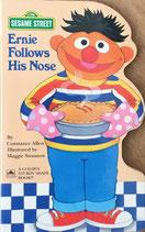 Ernie Follows His Nose  Golden Sturdy Shape Book SESAME STREET