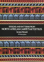 Designs and Patterns from North African Carpets and Textiles Dover 北アフリカのカーペットとテキスタイル