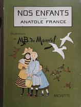 NOS ENFANTS ANATOLR FRANCE 子どもたち アナトール・フランス ブーテ・ド・モンベル