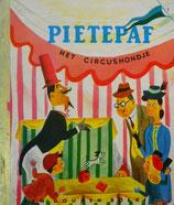 Pietepaf  het circushondje    een gouden boekje     オランダ版ゴールデンブック  サーカスのいぬ