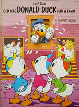 Old Mac DONALD DUCK Had a Farm a Puppet Book Walt Disney's