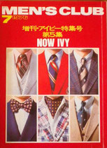 MEN'S CLUB181 1976/7 増刊・アイビー特集号 第5集 ALL ABOUT IVY<No.5> メンズ・クラブ