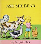 Ask Mr. Bear おかあさんのたんじょうび  マージョリー・フラック
