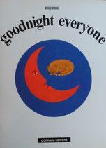 goodnight everyone ブルーノ・ムナーリ みんなおやすみ