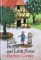 Little Brother and Little Sister Barbara Cooney バーバラ・クーニー