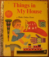 Things in My House /a Little Golden Book