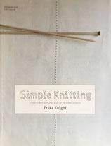 Simple Knitting  Erika Knight シンプルニッティング