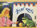 Zabi Kral žabí králかえるのおうじ  Vojtěch Kubašta ヴォイチェフ・クバシュタ しかけ絵本 チェコ語版