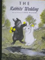 THE Rabbits' Wedding  しろいうさぎとくろいうさぎ ガース・ウィリアムズ Harper & Row 版