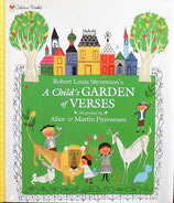 A Child's Garden of Verses  Alice and Martin Provensen プロヴェンセン夫妻 Golden Books