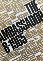 THE AMBASSADOR magazine NO.8 1965
