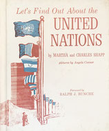 Let's Find Out About the UNITED NATIONS  by MARTHA and HCARLES SHAPP pictures by Angela Conner ソノシート付