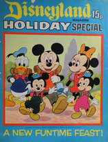 Disneyland magazine Holiday Special  1973  a new funtime feast! ディズニーランド・マガジン