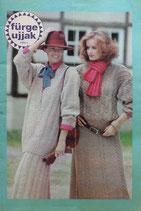fűrge ujjak 1989/1 ハンガリー手芸雑誌 Sleeve fingers