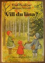Elsa Beskow Vill du läsa? I-II エルサ・ベスコフ