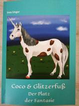 Kinderbuch COCO & GLITZERFUß - Der Platz der Fantasie