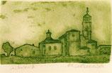 pequeño grabado de Castrojeriz