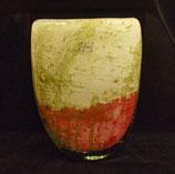 Grote ovaalvormige vaas - niet online verkrijgbaar