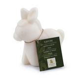 Savon au lait d'ânesse en forme d'âne, 150g