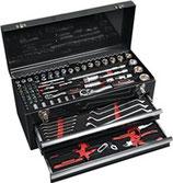 Werkzeugsortiment 97 teilig im Schubladenkoffer NOW