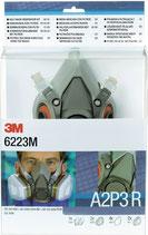 Atemschutzhalbmaskenset 6223 – SET – A2P3R EN 140 mit Filter M 3M