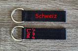 Schlüsselanhänger  klein / 12 cm Länge / 2,5 cm Breite