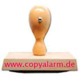 Holzstempel 30x 30 mm eigene Datei hochladen