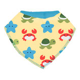 "maxomorra Bib Dribble ""Beach Buddies"""