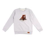 Walkiddy Sweatshirt Grizzly Bears Druck
