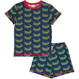 "maxomorra Pyjama-Set SS ""Crocodile"""