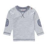 People Wear Organic Langarmshirt blau/weiß gestreift