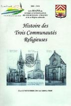 Histoire des trois Communautés Religieuses