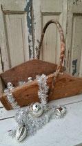 Oude kerstslinger / tinsel