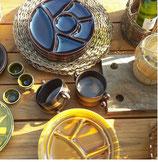 vintage borden groen