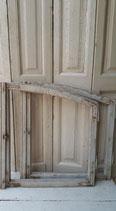 Sleetse houten raamdecoratie