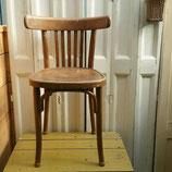Houten café stoel